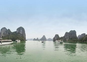 Die Halongbucht in Vietnam