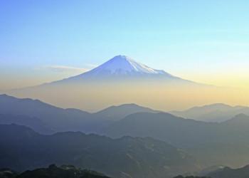 Der Fuji in Japan.