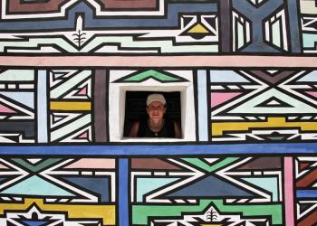 Die Ndebele: die Letzten ihrer Art