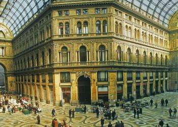 Die Galleria Umberto in Neapel
