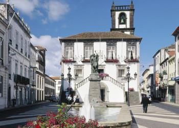 Ponta Delgada auf Sao Miguel, der größten Azoreninsel