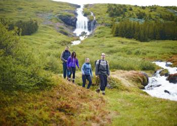 Wanderung auf Island