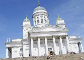 Der weiße Dom von Helsinki, Finnland