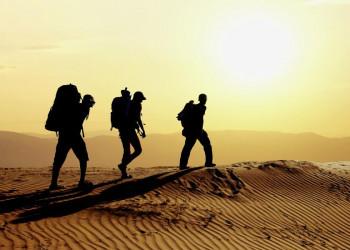 Wandern in den Wüsten Marokkos