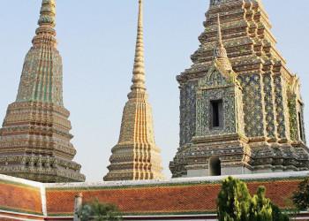 Wat Phra Keo im Königspalast von Bangkok