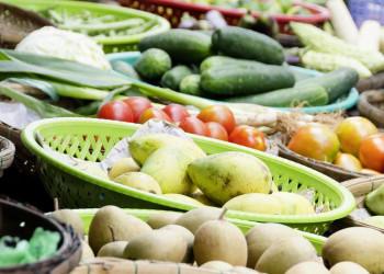 Gemüse auf dem Markt von Saigon