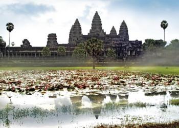 Die Tempel von Angkor Wat in Kambodscha