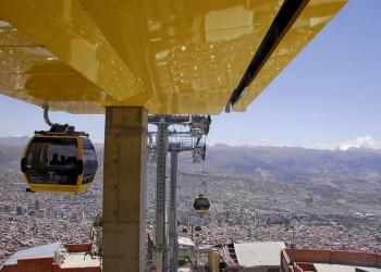 Die neue Seilbahn von La Paz