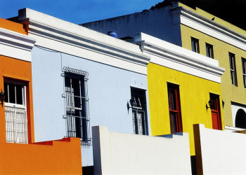 Spaziergang durch Kapstadts Viertel Bo Kaap in Südafrika