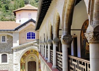 Das Kykkos-Kloster im Troodosgebirge, Zypern