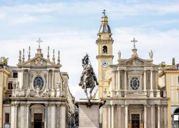 Die Kathedrale in Turin im Piemont