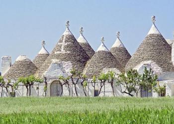 Unsere Rundreise durch Apulien führt uns auch zu den Trulli-Häusern.