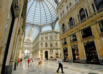 Die Einkaufspassage Galleria Umberto in Neapel, Italien