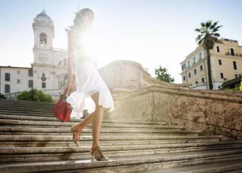 Die Spanische Treppe in Rom - ein Touristenmagnet