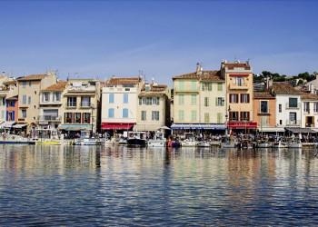 Die Promenade in Cassis, Provence