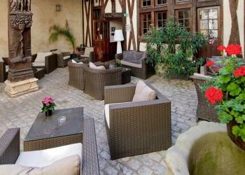 Das Hotel Philippe le Bon in Dijon, Burgund