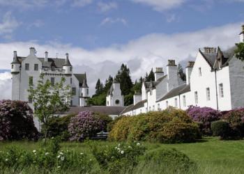Blair Castle in Perthshire, Schottland