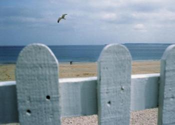 Strandszene am Atlantik in Cornwell