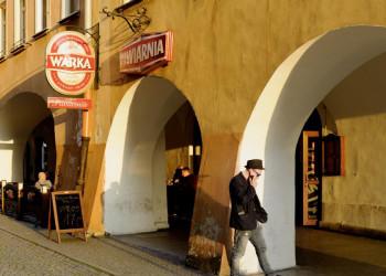 Laubengang in Jelenia Gora, Polen
