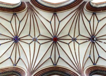 Die Kathedrale in Frombork, Gewölbe
