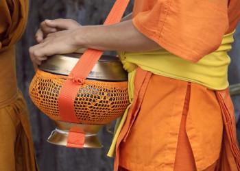 Buddhistische Mönche in Luang Prabang, Laos