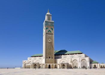 Moschee Hassan II - ein Highlight der Studienreise nach Marokko