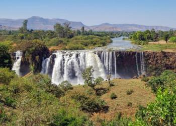 Die Fälle des Blauen Nil in Äthiopien