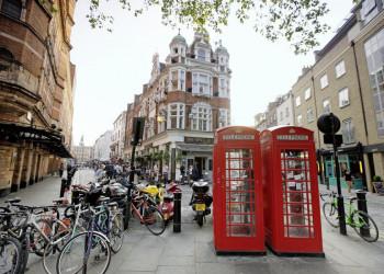 Im Traditionsviertel Soho in London