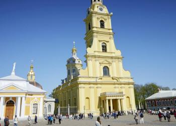 Peter-und-Paul-Kathedrale in St. Petersburg