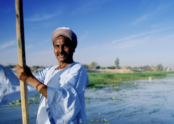 Begegnung auf dem Nil