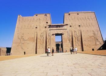 Horus-Tempel in Edfu, Ägypten
