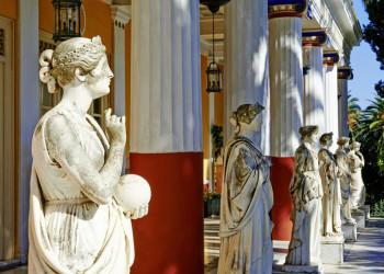 Das Achilleion, Kaiserin Sisis Schloss auf Korfu