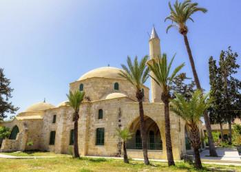 Die Grabmoschee Chala Sultan Tekke bei Larnaca