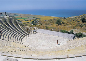 Das antike Theater von Curium