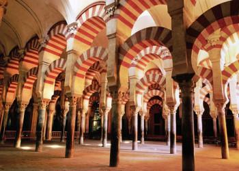 Die Arkaden der Moschee von Córdoba