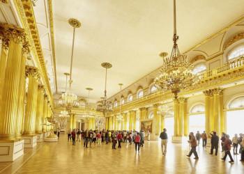 Empfangssaal im Winterpalast in Sankt Petersburg