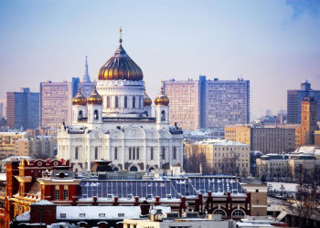 Die Christ-Erlöser-Kathedrale in Moskau