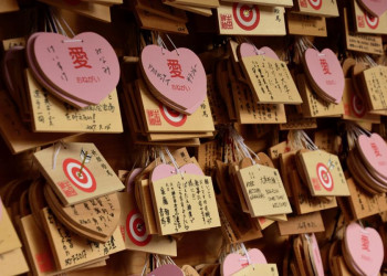 Wunschtafeln in Japan