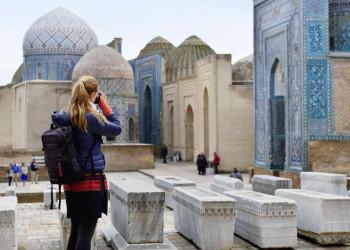 Schah-e Sinda, die Gräberstraße in Samakand