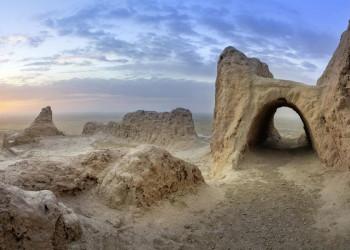 Die Wüstenfestung Ayaz Kala in Usbekistan