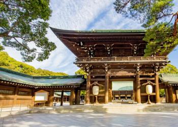 Der Meiji-Schrein in Tokio
