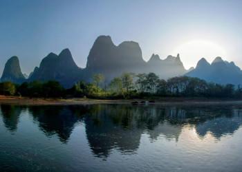 Kegelkarstberge am Li-Fluss bei Yangshuo