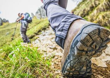 Festes Schuhwerk: beim Wandern auf dem Fjell in Norwegen unerlässlich!