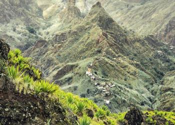 Beeindruckende Berglandschaft auf der Kapverden-Insel Santo Antao