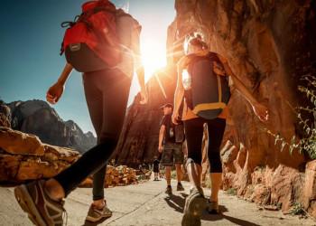 Wandern in spektakulärer Felsenlandschaft