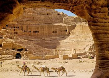 Das Amphitheater in Petra