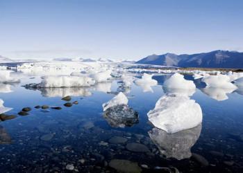 Auch auf unserem Weg: Gletscherlagunen an der Küste