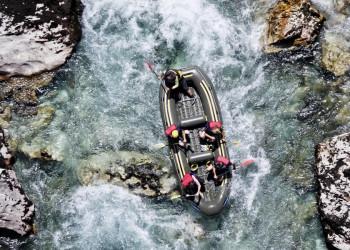 Ein wildes und feuchtes Vergnügen: unser Rafting auf der Tara
