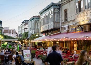 Restaurants und Bars in der Altstadt von Tiflis