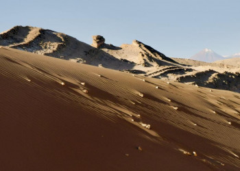 Wüstenlandschaft in der Atacama
